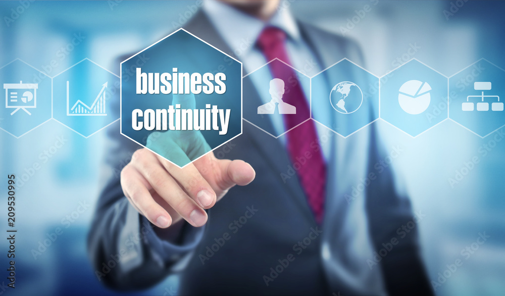 Fototapeta business continuity