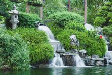Japanese Style Mini Waterfall ...