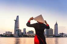 Ho Chi Minh City Skyline And T...