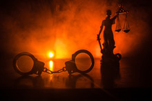 Legal Law Concept. Silhouette ...