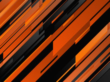 Abstract Geometric Background With Stripes. Vector Illustration