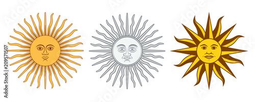 Valokuva  Sun of May variations