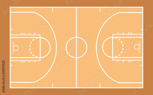 vector of basketball court template buy this stock vector and