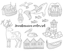 Scandinavian Collection. Vecto...
