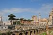 Roma, i Fori a via del Fori Imperiali