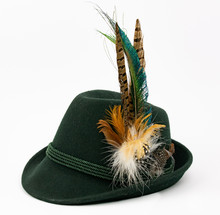 Traditonal German Hat, Tyrolean Hat