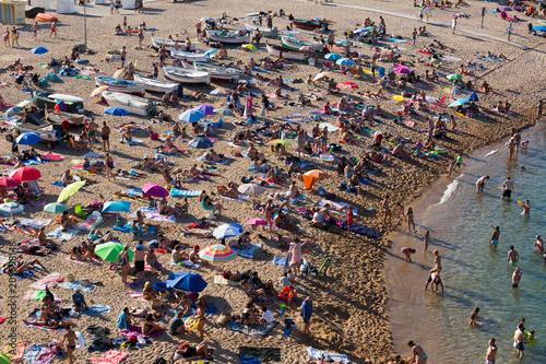 Fototapeta Beach of Tossa de Mar obraz
