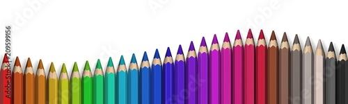 Valokuvatapetti pencil
