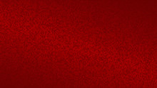 Abstract Halftone Gradient Background In Randomly Shades Of Red Colors