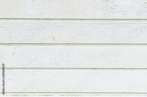 Vintage Weathered Shabby White Painted Wood Texture As Background Rustic Pastel Wooden Plank