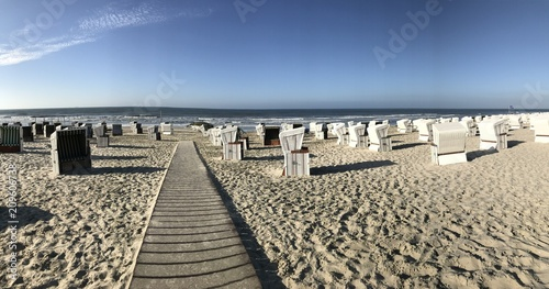 Panorama Strand Wangerooge