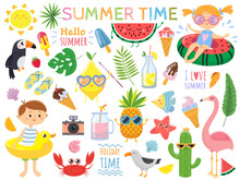 Summer Set With Cute Elements....