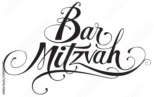 Valokuva  Bar Mitzvah