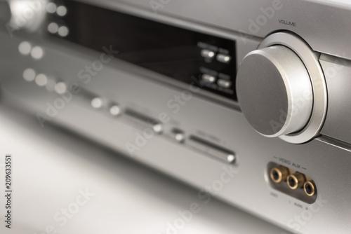 Photo  audio equipment close-up