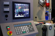 control panel of industrial CNC equipment