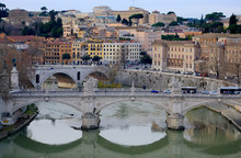 Rome, Italy. View From Sant'An...