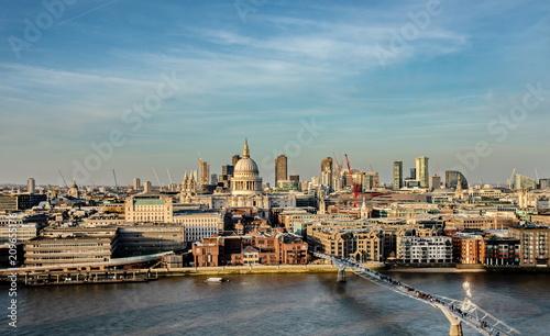 Plakat Londyn. Wspaniała katedra św. Pawła