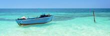 Blue Boat, Cayo Levisa, Cuba