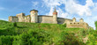 Southern side of medieval Kamianets-Podilskyi fortress, Ukraine