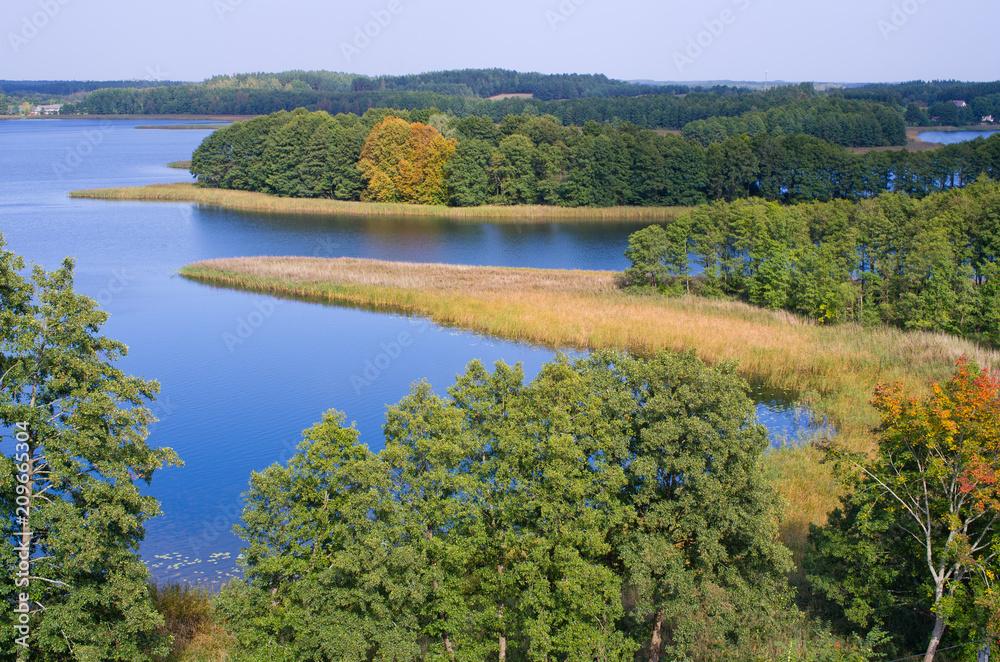 Wigry lake, Poland