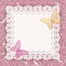Template Lace Frame  Design Fo...