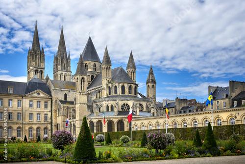 Reims: Abbaye aux Hommes, Champagne, France Canvas Print