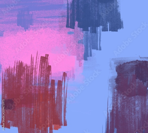 Foto op Plexiglas Crimson Abstract painting on canvas. Hand made art. Colorful texture. Modern artwork. Strokes of fat paint. Brushstrokes. Contemporary art. Artistic background image.