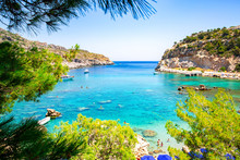 Scenic Anthony Quinn Bay On Rh...