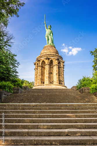 Poster Historisch mon. The Hermannsdenkmal in Germany