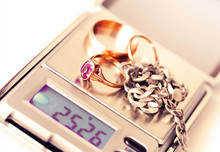 Jewelry On The Digital Scale