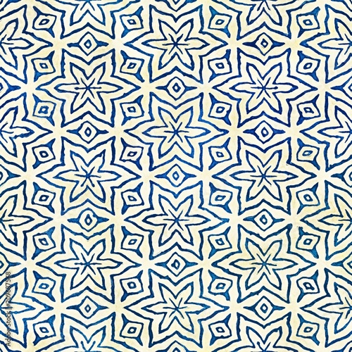 macierzystego-batika-stylu-boho-akwarela-bezszwowe-artystyczny-kolorowy-wzor-kwadratowy