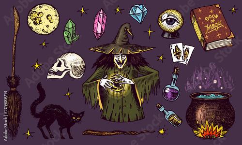Fotografia Halloween elements