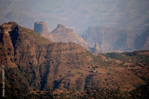 Papiers peints Cappuccino Ethiopie - Montagne Siemen