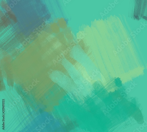 Fotobehang Gletsjers Abstract painting on canvas. Hand made art. Colorful texture. Modern artwork. Strokes of fat paint. Brushstrokes. Contemporary art. Artistic background image.