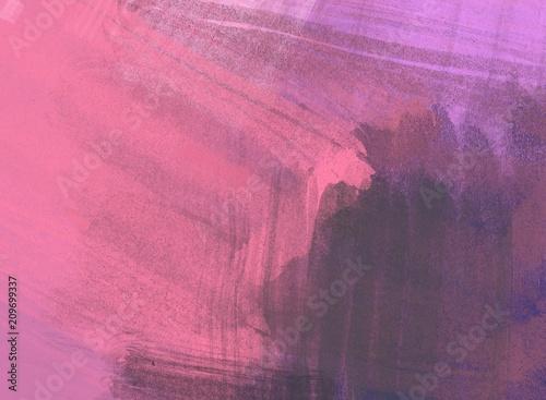 Crédence de cuisine en verre imprimé Rose banbon Abstract painting on canvas. Hand made art. Colorful texture. Modern artwork. Strokes of fat paint. Brushstrokes. Contemporary art. Artistic background image.