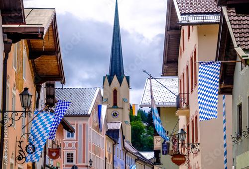 Papiers peints Con. ancienne old town of garmisch-partenkirchen in germany