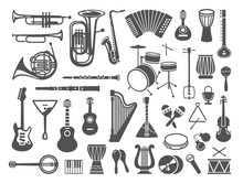 Collection Of Musical Instrume...