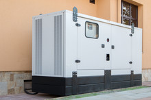 Generator For Emergency Electric Power.