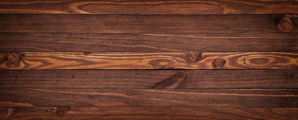 Fototapeta Grunge rich wood grain texture background with knots