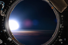 View From A Porthole Of Space ...