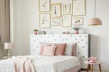 Beautiful White Bedroom Interi...