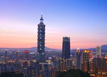 Taipei Cityscape With Taipei 1...