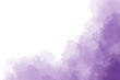 canvas print picture - Purple watercolor background