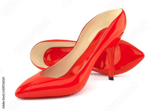Fotografia  Red heels