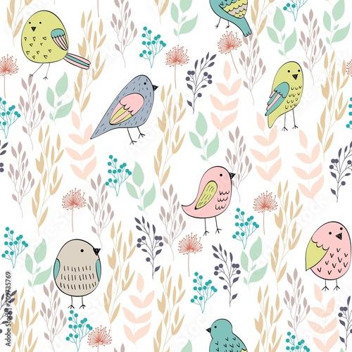 wektor-wzor-z-ptakami