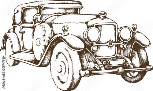 zabytkowy-samochod-dla-dziecka