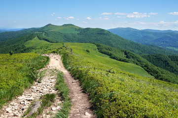 Bieszczady/ Poloniny Mountains in Poland