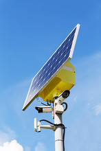 Two Security Cameras And Solar...