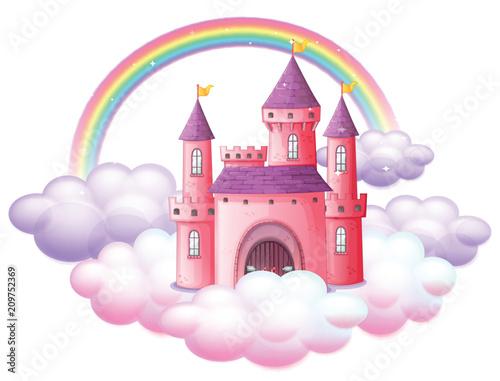 A Pink Fairy Tale Castle