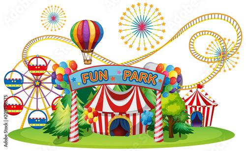 In de dag Kids A Circus and Fun Fair